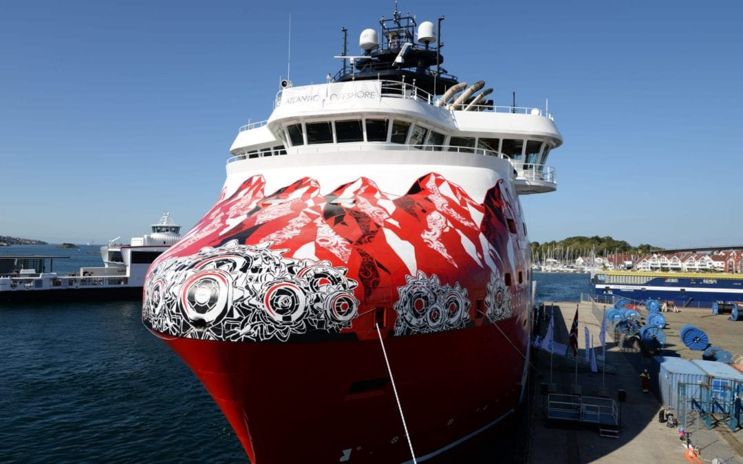 Ocean Art receives fuel efficiency-prize from Equinor