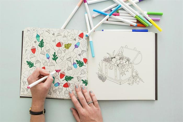 Here's What Happens When You Color Instead of Watch TV for a Week