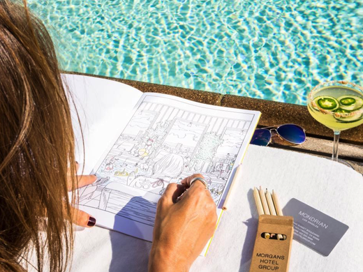 The latest hotel amenity: Adult coloring books