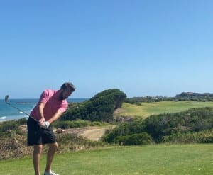 PEGG Golf Pro Marc Rogerstee off
